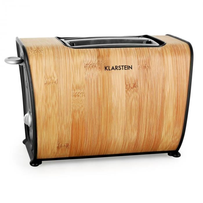 Klarstein BT-318 Grille-pain 2 tranches inox 1000W rétro turquoise ...