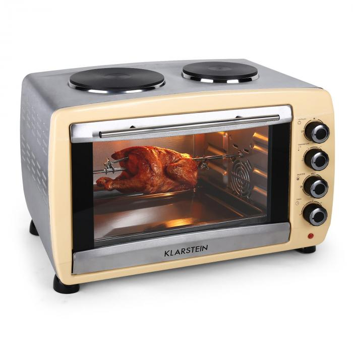 how to use 5 star-chef 45l convection oven