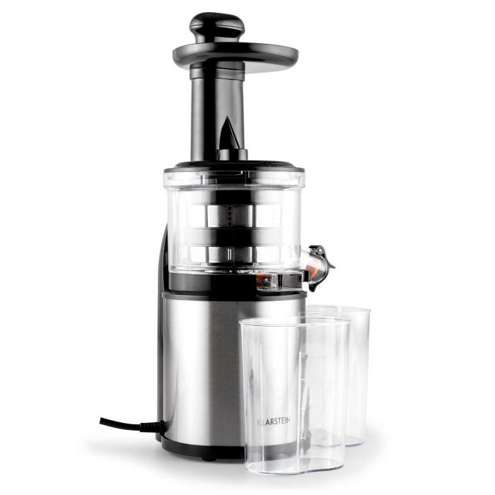 flowjuicer slow juicer centrifugeuse extracteur de jus 200w 80t min klarstein. Black Bedroom Furniture Sets. Home Design Ideas