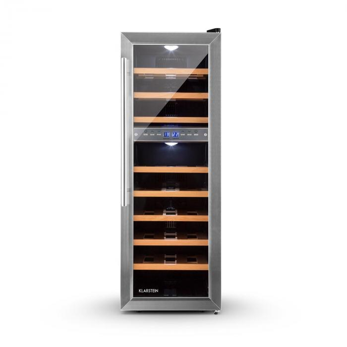 reserva 27d cave vin frigo vin multi temperature 76l 27 bouteilles klarstein. Black Bedroom Furniture Sets. Home Design Ideas