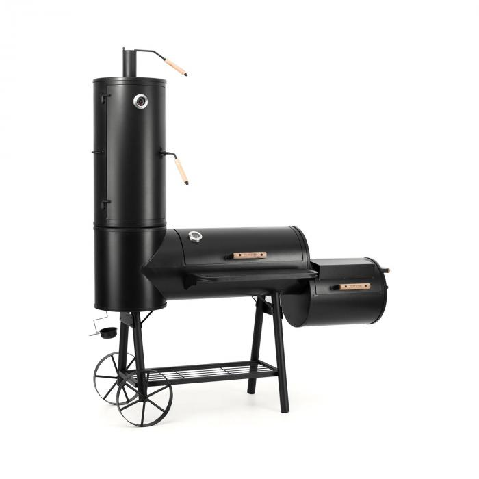 monstertruck smoker grill bbq r ucherofen stahl schwarz klarstein. Black Bedroom Furniture Sets. Home Design Ideas