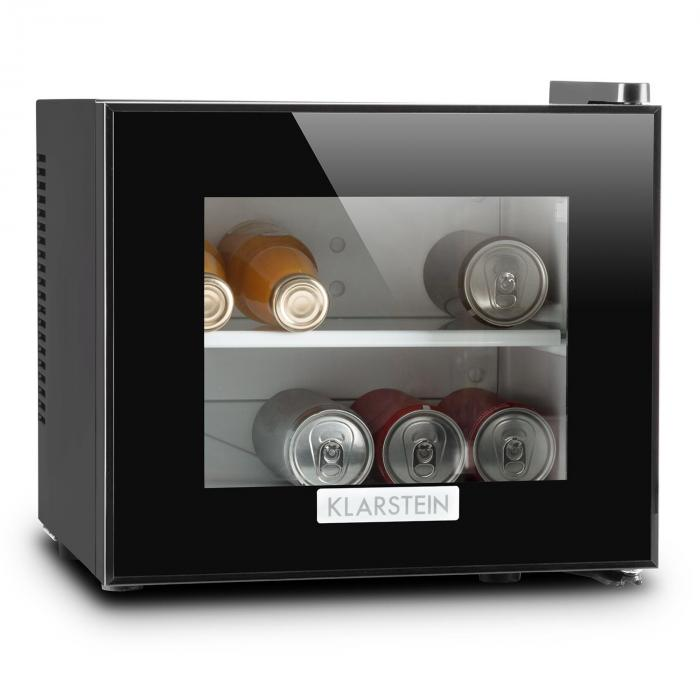 frosty mini frigo r frig rateur compact 10l 65w classe a noir klarstein. Black Bedroom Furniture Sets. Home Design Ideas