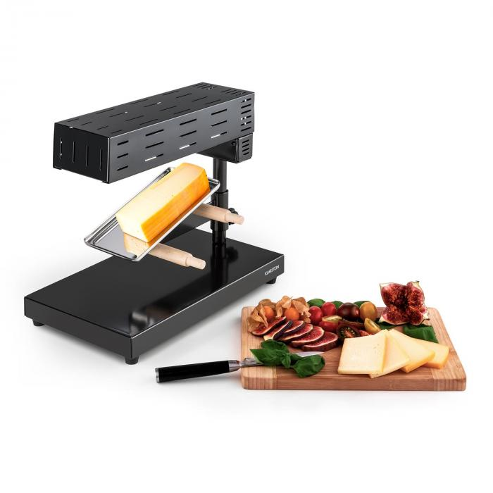 appenzell 2g traditioneller raclette grill 600 w standger t schwarz klarstein. Black Bedroom Furniture Sets. Home Design Ideas