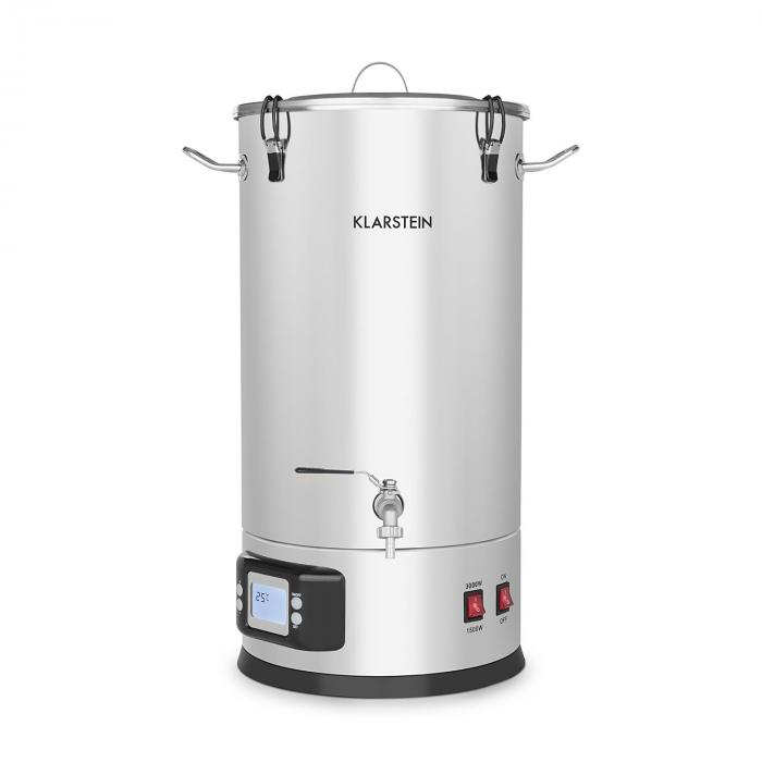 Maischfest Mash Kettle Mash Tank 5 Pieces 1500/3000W 25l LCD Touch ...