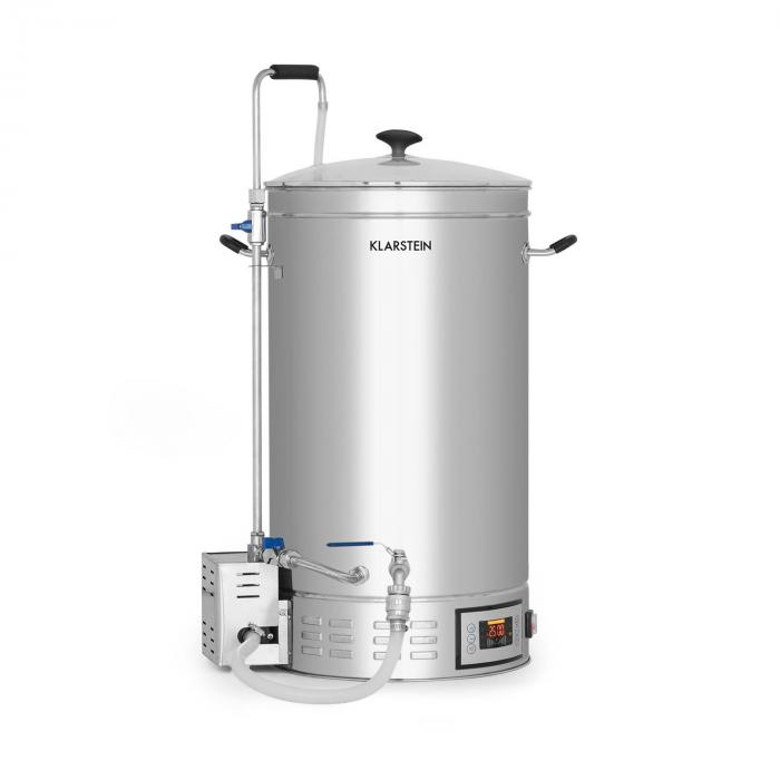 Brauheld 35 Mash Kettle 35 Litres 30-140 ° C Circulating Pump Stainless Steel