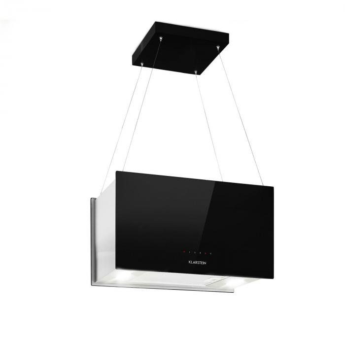 Kronleuchter L Cappa a Isola 60cm Scarico: 590m³/h LED Touch nero