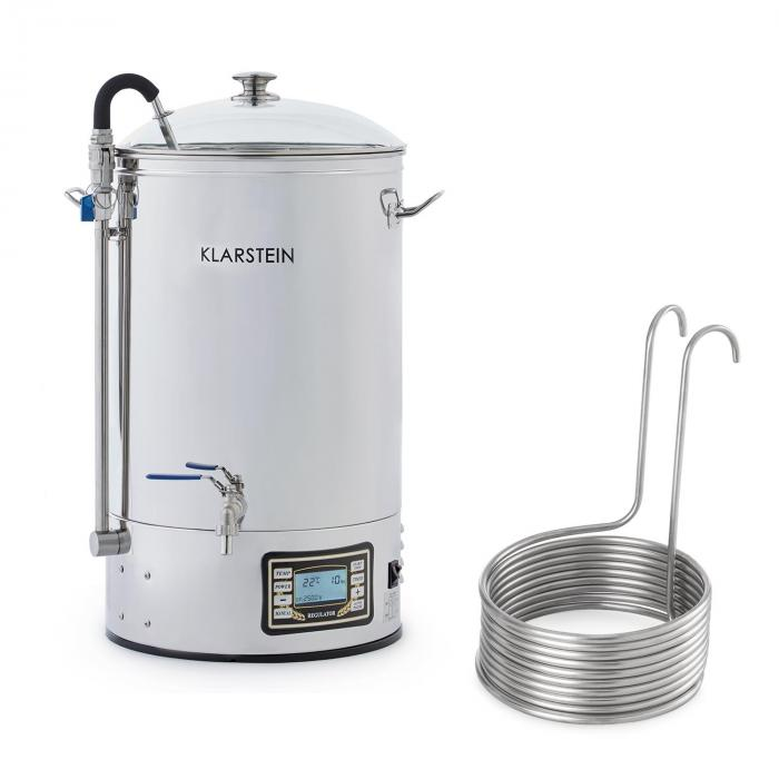 Mundschenk + Immersion Cooler Beer Brewing System 2500W 30l 304 Stainless Steel