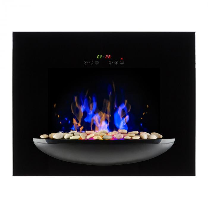 Fire Bowlwall Mounted Fireplace 1800wrealistic Flames