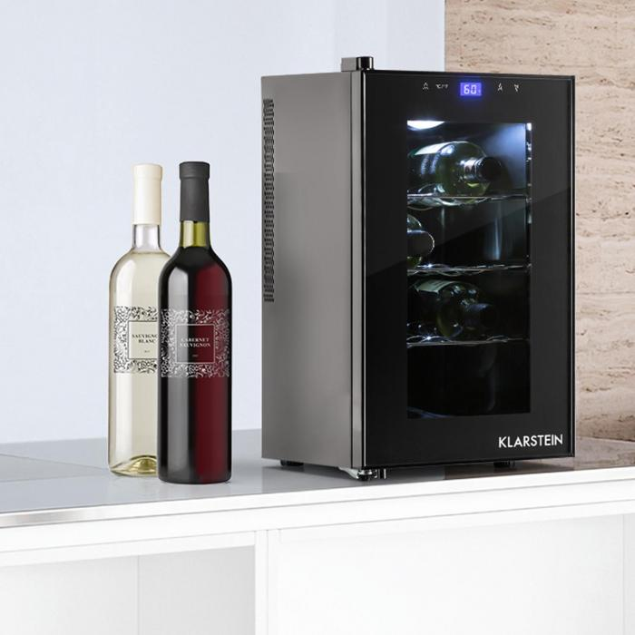 frigo vin reserva picola classe b 8 bouteilles klarstein. Black Bedroom Furniture Sets. Home Design Ideas