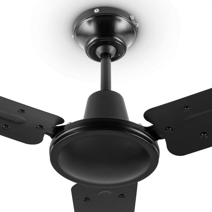 Spinning Ceiling Fan : Spin doctor ceiling fan cm w blades stainless steel