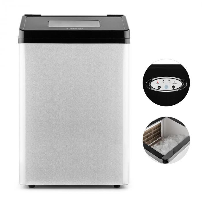 Powericer Eco 4 Ice Maker 450w 40 Kg Day Stainless Steel