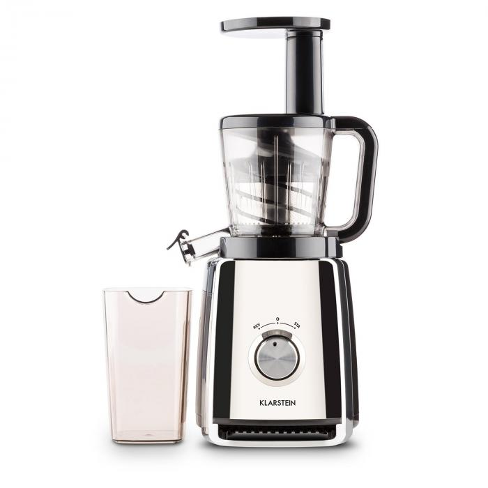 Klarstein Fruit Berry Slow Juicer 400w : Sweetheart Juicer Slow Juicer 150W 32 RPM Chrome Silver Klarstein