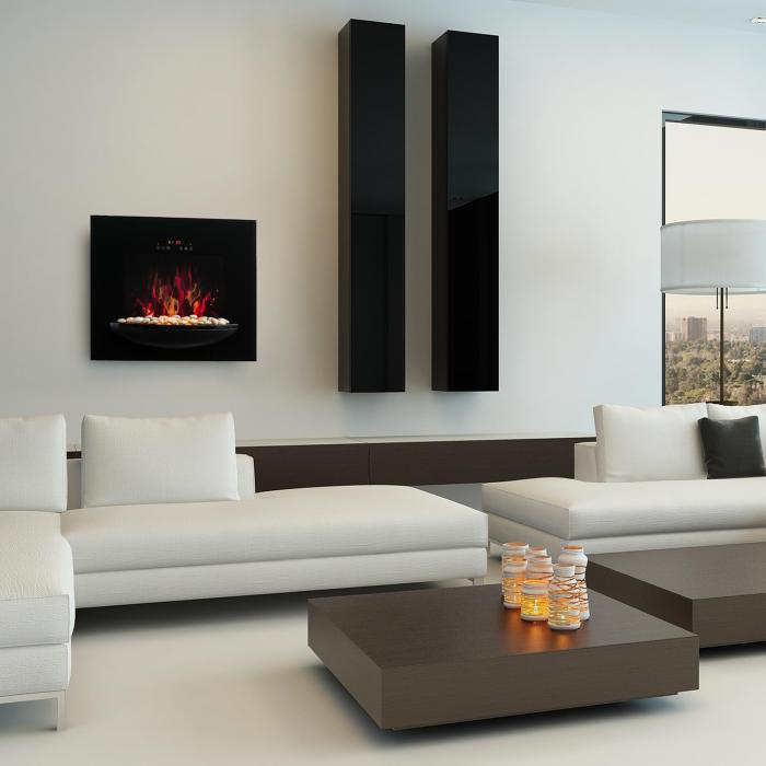 feuerschale elektro wandkamin 1800w flammenillusion. Black Bedroom Furniture Sets. Home Design Ideas