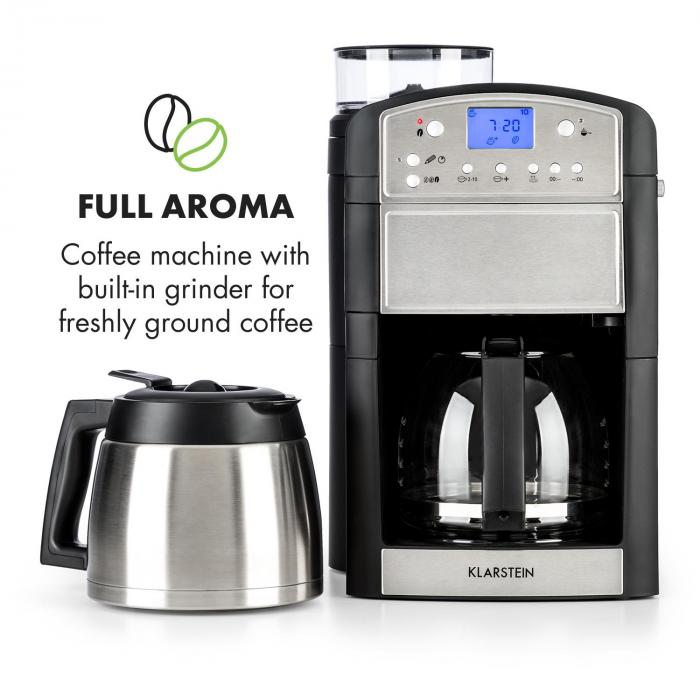 aromatica kit machine caf cafeti re moulin verseuse verre thermos inox inox bross. Black Bedroom Furniture Sets. Home Design Ideas