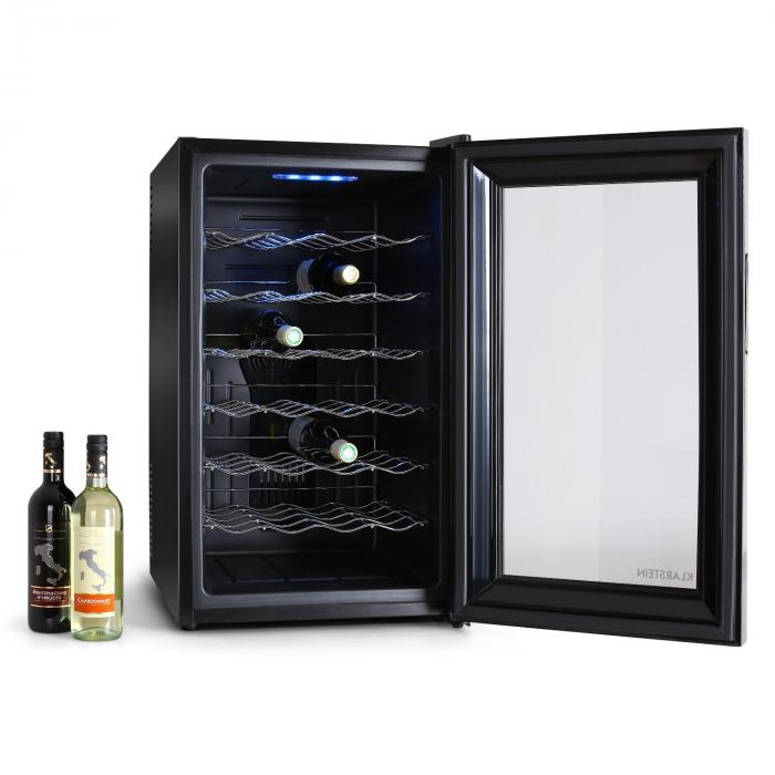 cave vin r frig r e 28 bouteilles 70l frigo. Black Bedroom Furniture Sets. Home Design Ideas