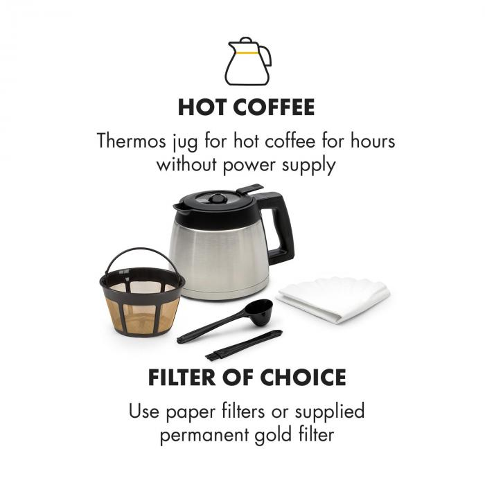 aromatica thermos machine caf cafeti re moulin verseuse thermos aroma inox inox bross. Black Bedroom Furniture Sets. Home Design Ideas