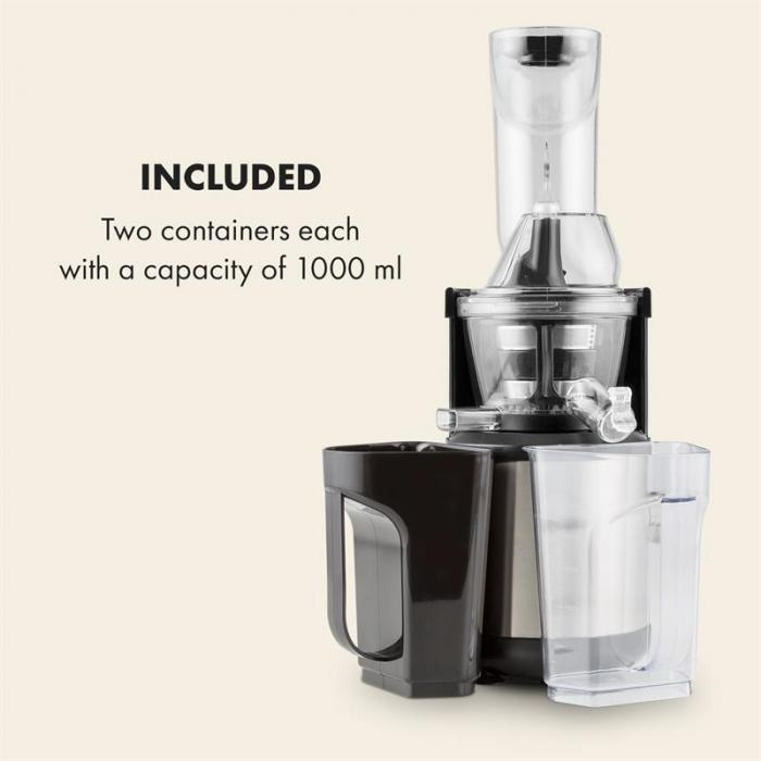 Fruitberry Slow Juicer 400W 60 RPM