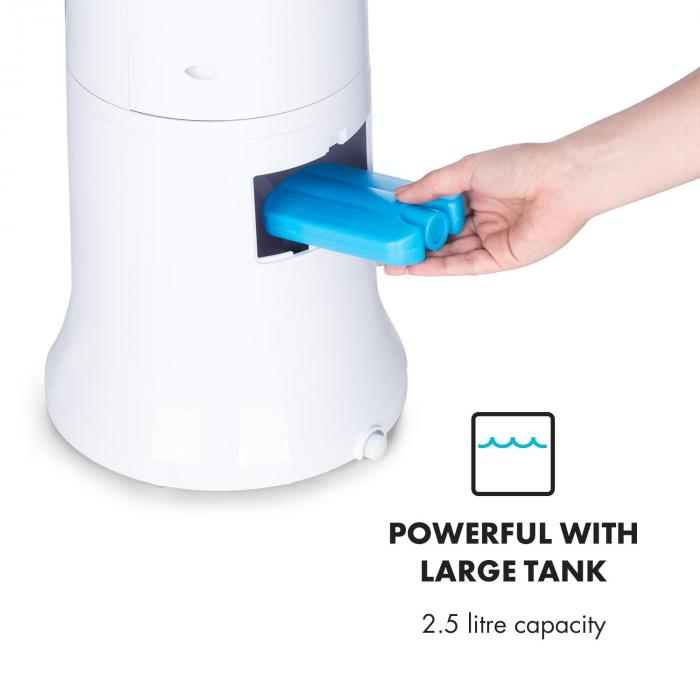 Highrise Fan Air Cooler Humidifier 35w 2 5l Ice Pack