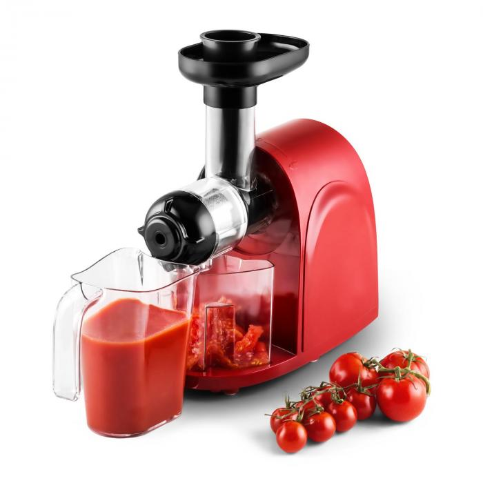 Klarstein Fruit Berry Slow Juicer Review : Slow Juicer 150W 80rpm Red / Black Red Klarstein