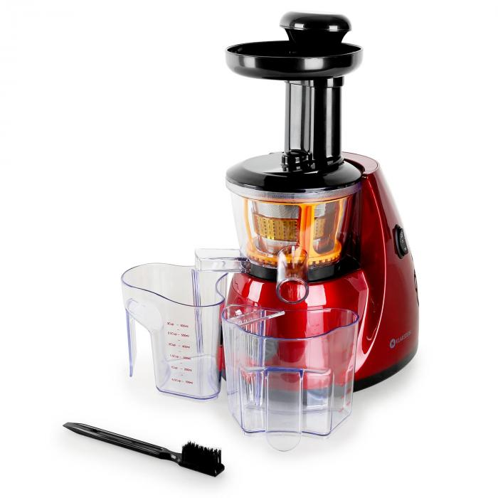 Slow Juicer Uses : Bella Rossa Slow Juicer Centrifugeuse 70 t/min Rouge Klarstein